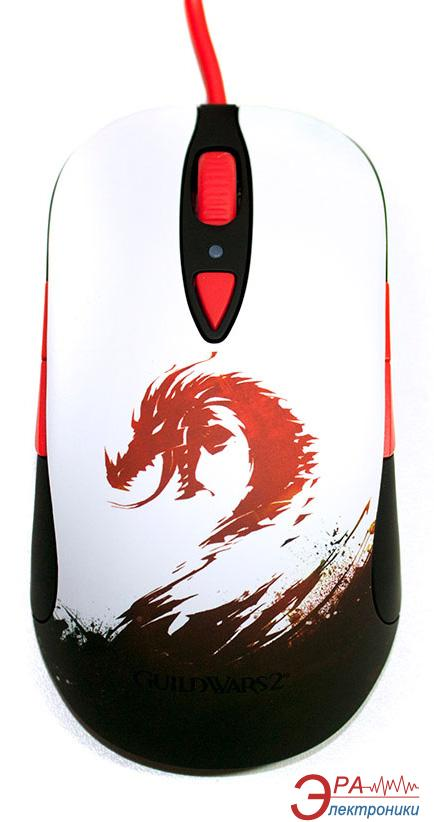 Игровая мышь SteelSeries Sensei RAW Guild Wars 2 Edition (62156) White