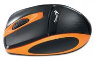 Мышь Genius DX-7000 WL (31030063103) Black\Orange