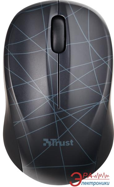 Мышь Trust Vivy Wireless Mini Mouse Lines (18248) Black