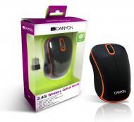 Мышь Canyon CNR-MSOW04NO Black\Orange