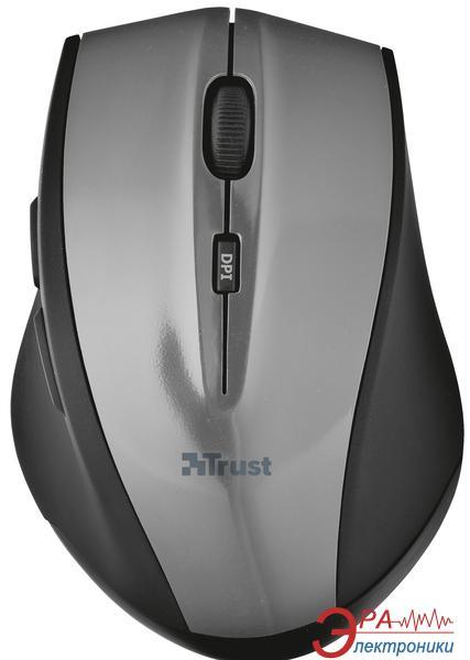 Мышь Trust EasyClick Wireless Mini (18039) Black\Grey