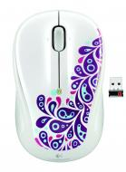 Мышь Logitech M325 Paisley (910-003007) White