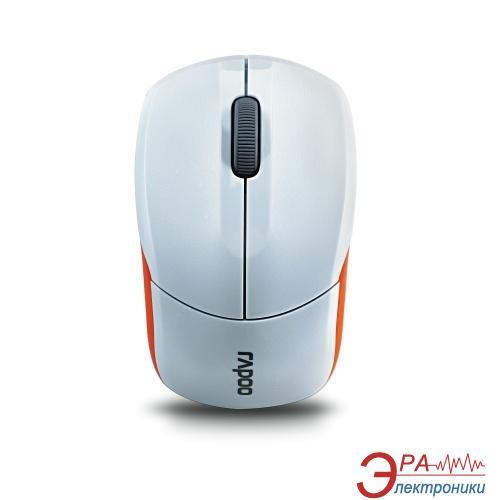 Мышь Rapoo Wireless Optical Mouse 1190 White