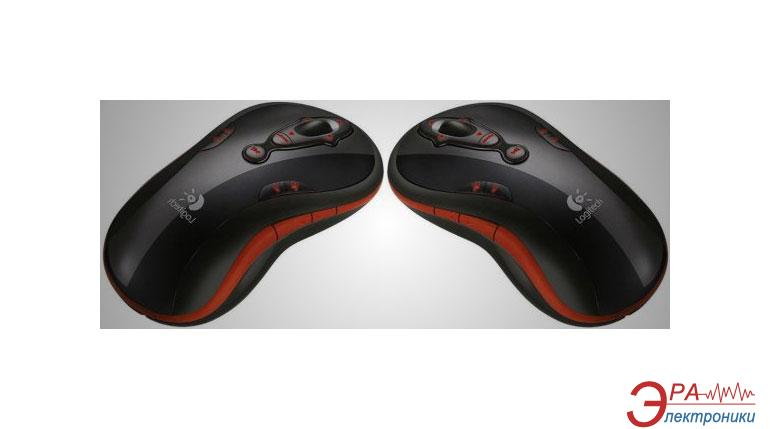 Мышь Logitech MediaPlay Cordless Mouse Red USB+PS/2 (931279-0215) Black\Red