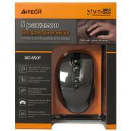 Мышь A4 Tech G10-650F-1 Glossy Black