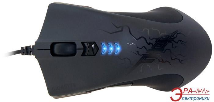 Мышь GigaByte GM-M7 Thor Black