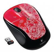 Мышь Logitech M325 Red Topography (910-003029)