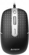 Мышь A4 Tech D-557FX Holeless (D-557FX-1) Black\Silver