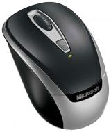 Мышь Microsoft 3000 v2 Wireless Mobile Mouse USB (2EF-00034) Black\Silver