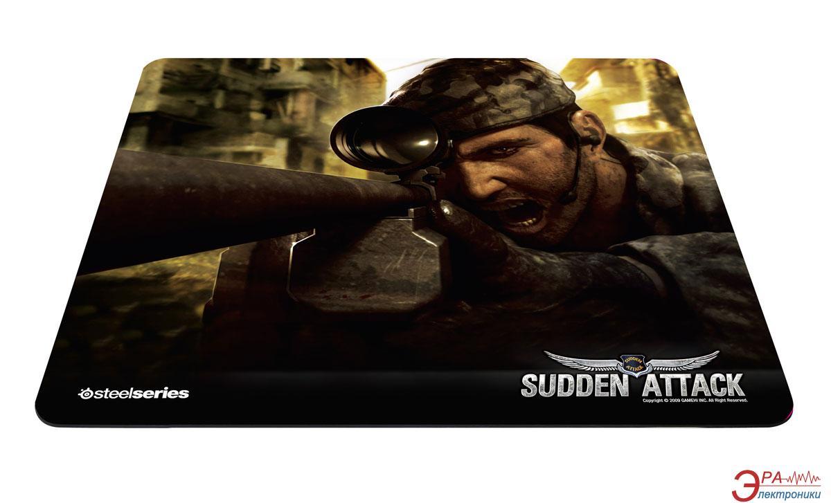 Игровая поверхность SteelSeries QcK Mass Sudden Attack edition (63047)
