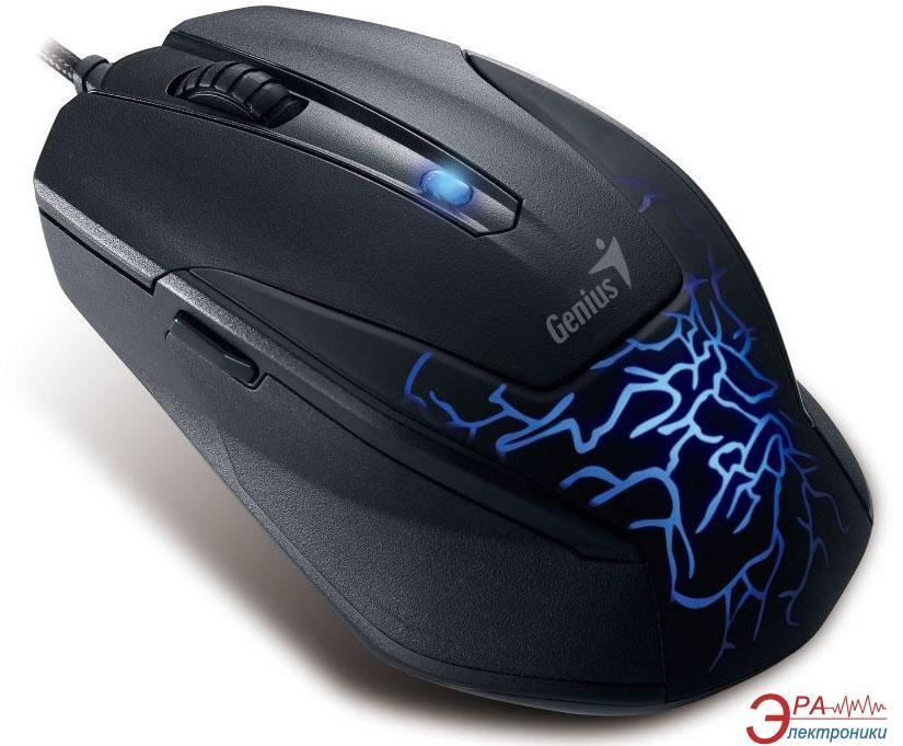Игровая мышь Genius X-G500 USB Gaming (31010163101) Black