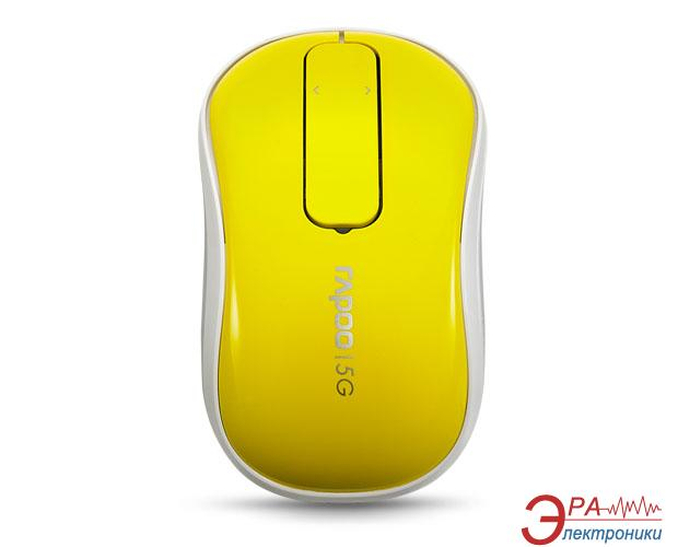 Мышь Rapoo Touch Mouse T120p Yellow