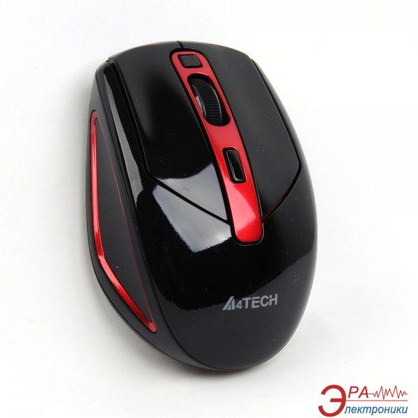 Мышь A4 Tech G11-590FX-4 V-Track Black\Red