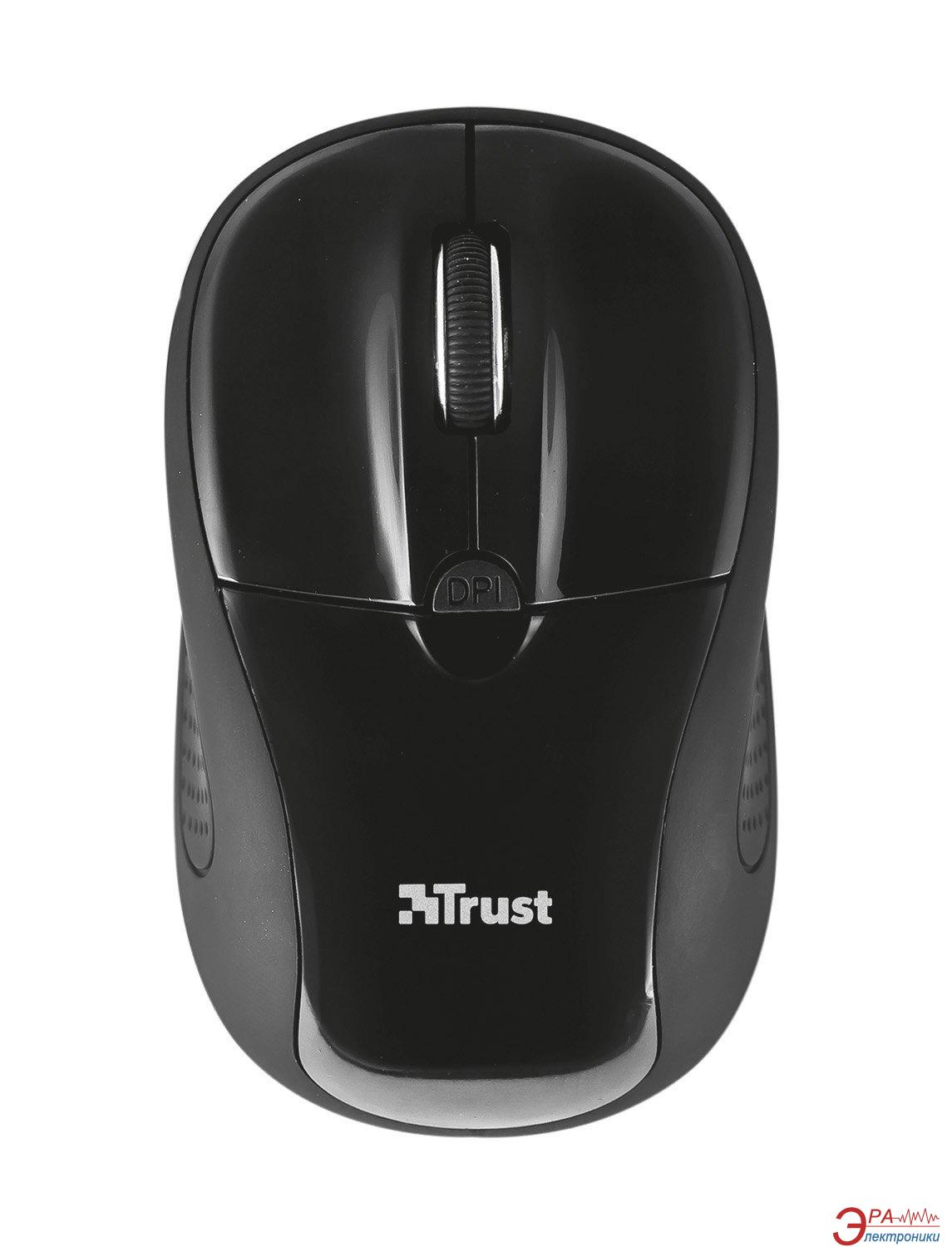 Мышь Trust Primo Wireless Mouse (20322) Black