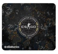 Игровая поверхность SteelSeries QcK+ CS:GO Camo Edition (63379)