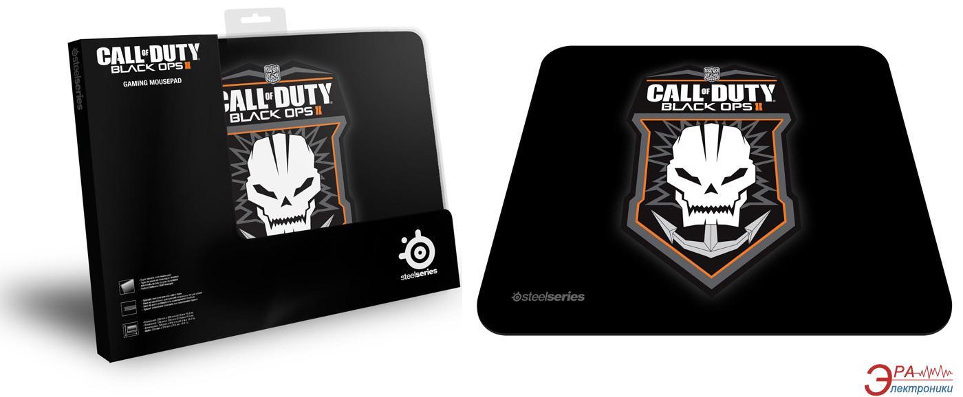Игровая поверхность SteelSeries QcK COD Black Ops2 Badge (67245)