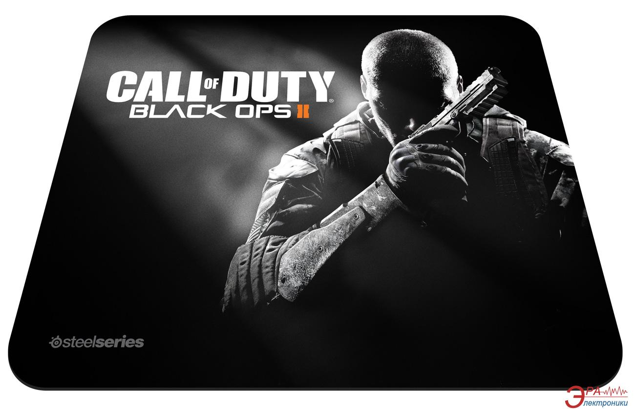 Игровая поверхность SteelSeries QcK COD Black Ops2 Soldier (67263)