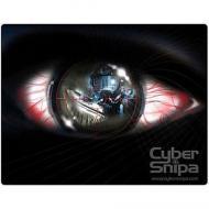 Игровая поверхность Cyber Snipa Micro-Fibre Mouse Matt - Eye CSMM03