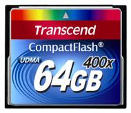 Карта памяти Transcend 64Gb Compact Flash 400x (TS64GCF400)