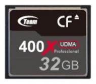 ����� ������ Team 32Gb Compact Flash 400x (TG032G2NCFDX)