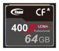 Карта памяти Team 64Gb Compact Flash 400x (TCF64G40001)