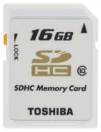 Карта памяти Toshiba 16Gb SD Class 10 (SD-T16GJ(BL4)