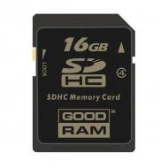 Карта памяти Goodram 16Gb SD Class 4 (SDC16GHC4GRR9)