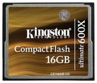 Карта памяти Kingston 16Gb Compact Flash 600x (CF/16GB-U3)