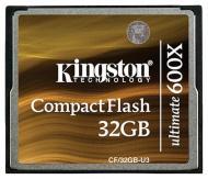 ����� ������ Kingston 32Gb Compact Flash 600x (CF/32GB-U3)