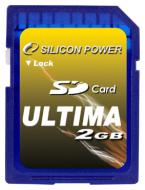 Карта памяти Silicon Power 2Gb SD 45x (SP002GBSDC045V10)