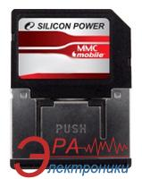 Карта памяти Silicon Power 2Gb RS MMC dual voltage (SP002GBMMM100V10)