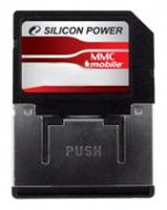 ����� ������ Silicon Power 2Gb RS MMC dual voltage (SP002GBMMM100V10)