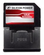 Карта памяти Silicon Power 1Gb RS MMC dual voltage