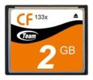 Карта памяти Team 2Gb Compact Flash 133X