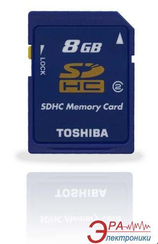 Карта памяти Toshiba 8Gb SD Class 2 (SD-M08GJ(BL2)