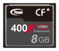 Карта памяти Team 8Gb Compact Flash 400x (TG008G2NCFDX)