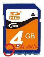 Карта памяти Team 4Gb SD Class 4
