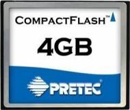 Карта памяти Pretec 4Gb Compact Flash (CFY04G)
