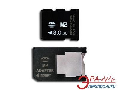 Карта памяти Pretec 8Gb M2 + adapter