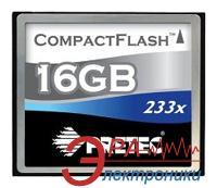 Карта памяти Pretec 16Gb Compact Flash 233x (CFS216G)
