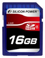Карта памяти Silicon Power 16Gb SD Class 4 (SP016GBSDH004V10)