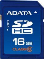 Карта памяти A-DATA 16Gb SD Class 6 (ASDH16GCL6-R)