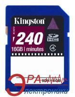Карта памяти Kingston 16Gb SD Class 4 Video Card (SDV/16GB)