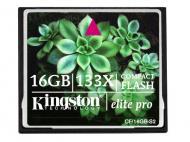 Карта памяти Kingston 16Gb Compact Flash 133X (CF/16GB-S2)
