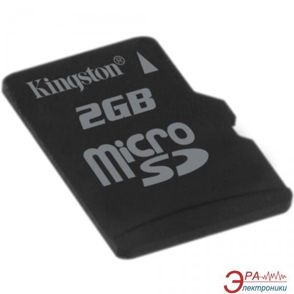Карта памяти Kingston 2Gb microSD (SDC/2GBSP)