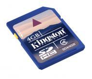 ����� ������ Kingston 4Gb SD Class 4 (SD4/4GB)