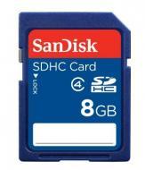 Карта памяти Sandisk 8Gb SD Class 4 (SDSDB-008G-B35)