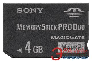 Карта памяти Sony 4Gb Memory Stick Pro Duo (MSMT4GN)