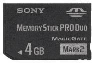 ����� ������ Sony 4Gb Memory Stick Pro Duo (MSMT4GN)