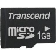 Карта памяти Transcend 1Gb microSD no adapter (TS1GUSDC)